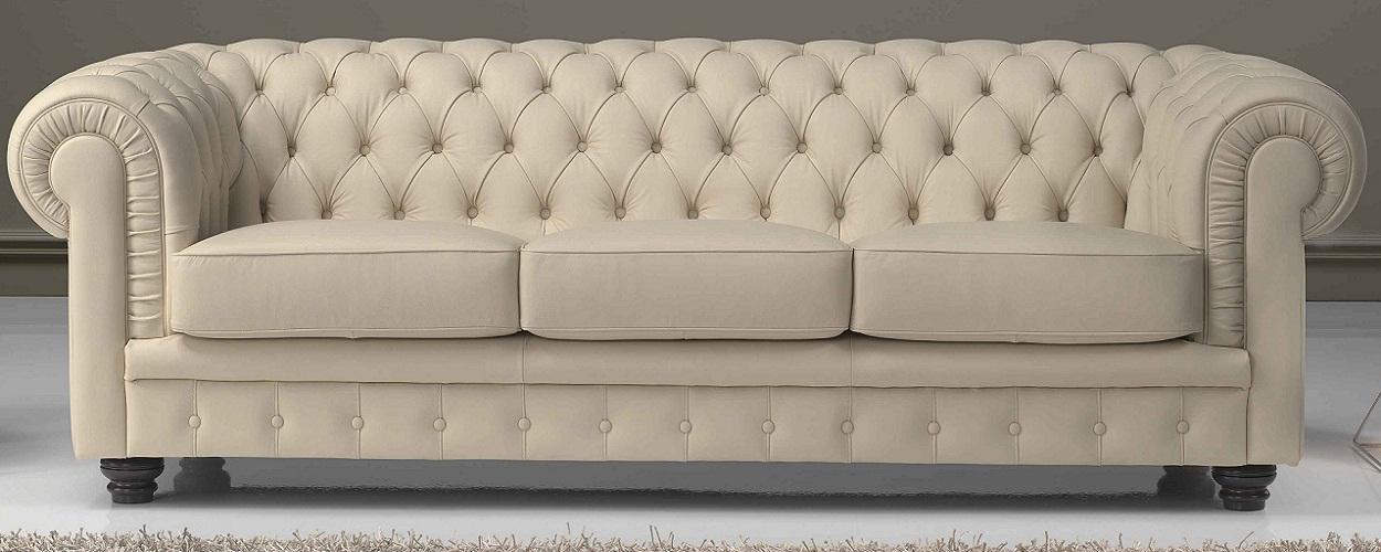 Sofa design vendita on line divani in pelle pelle for Divan man chesterfield